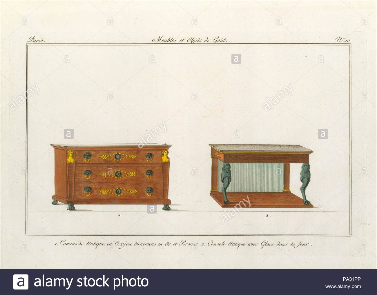 Meuble Outlet Design For A Commode And Console Plate 10 In Collection De