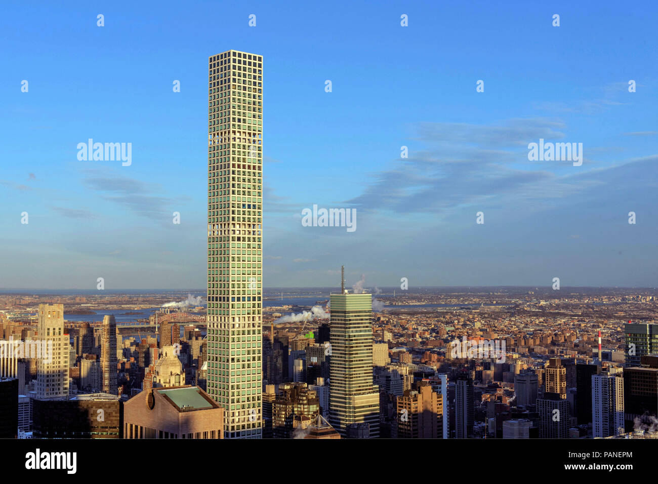 Tallest Residential Building Nyc New York 432 Park Avenue Stock Photos And New York 432 Park