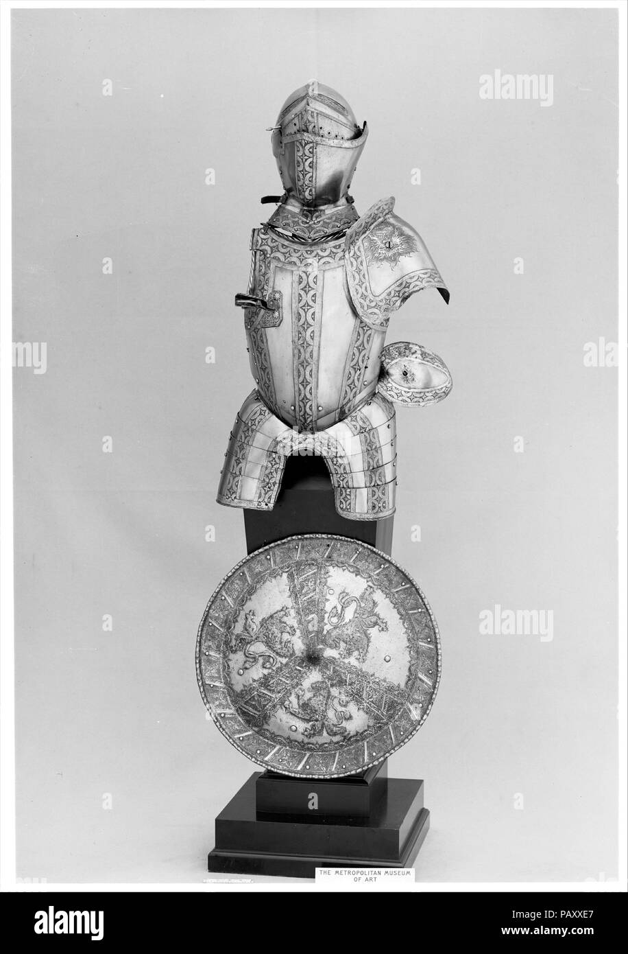 Elements Augsburg Portions Of An Armor Garniture Culture German Augsburg Etcher
