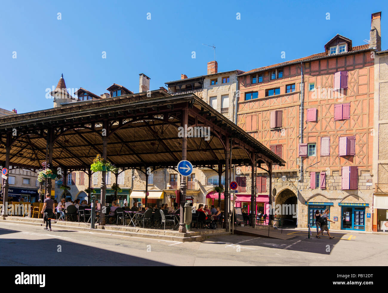 Location Figeac Covered Market Hall Place Carnot Figeac Lot Department
