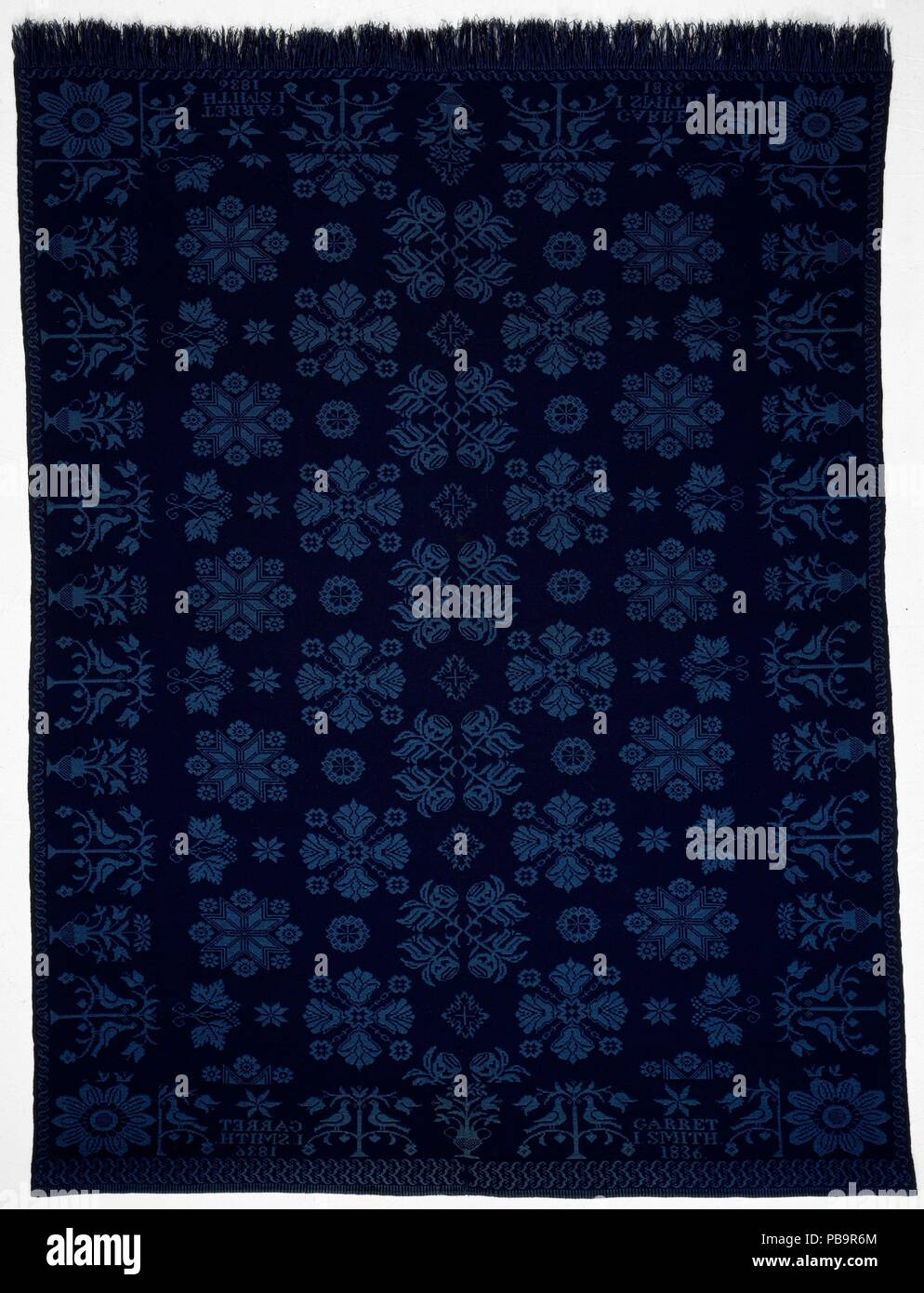 Rockland Textiles Coverlet Culture American Dimensions 98 X 71 1 2 In 248 9 X