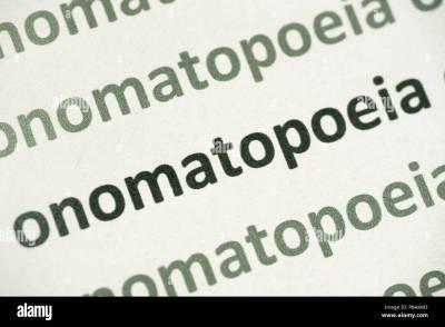 Onomatopoeia Stock Photos & Onomatopoeia Stock Images - Alamy