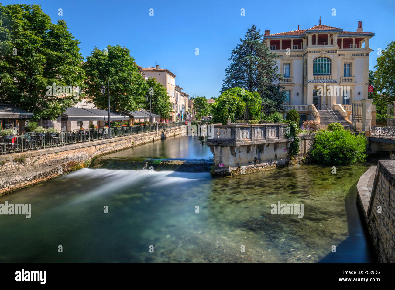 Meteo France Avignon L Isle Sur La Sorgue Vaucluse Provence France Stock Photo