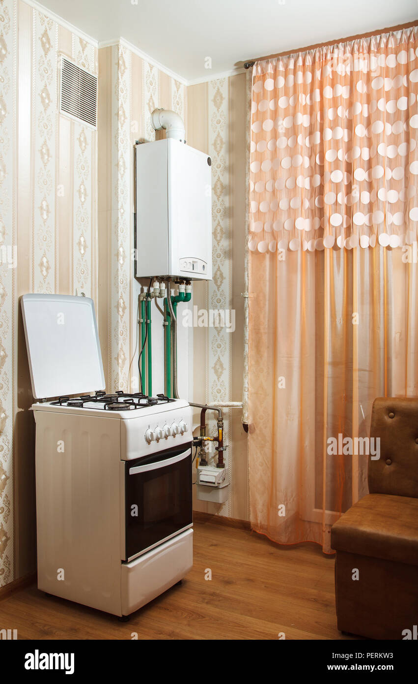 Heißwasserboiler Küche Gas Boiler High Resolution Stock Photography And Images - Alamy