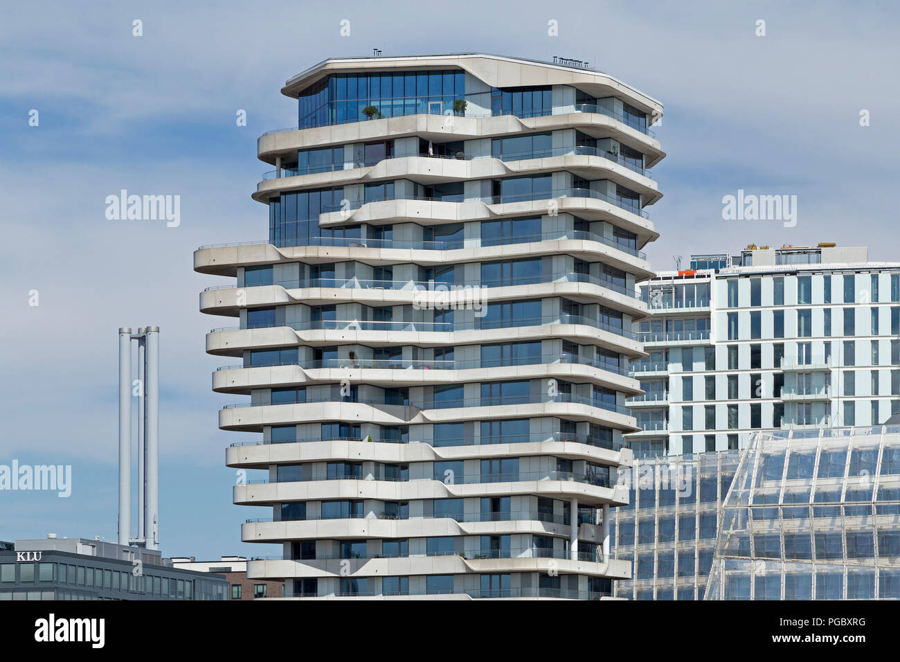 Marco Polo Tower Marco Polo Tower, Hafencity (harbour City), Hamburg, Germany Stock Photo - Alamy