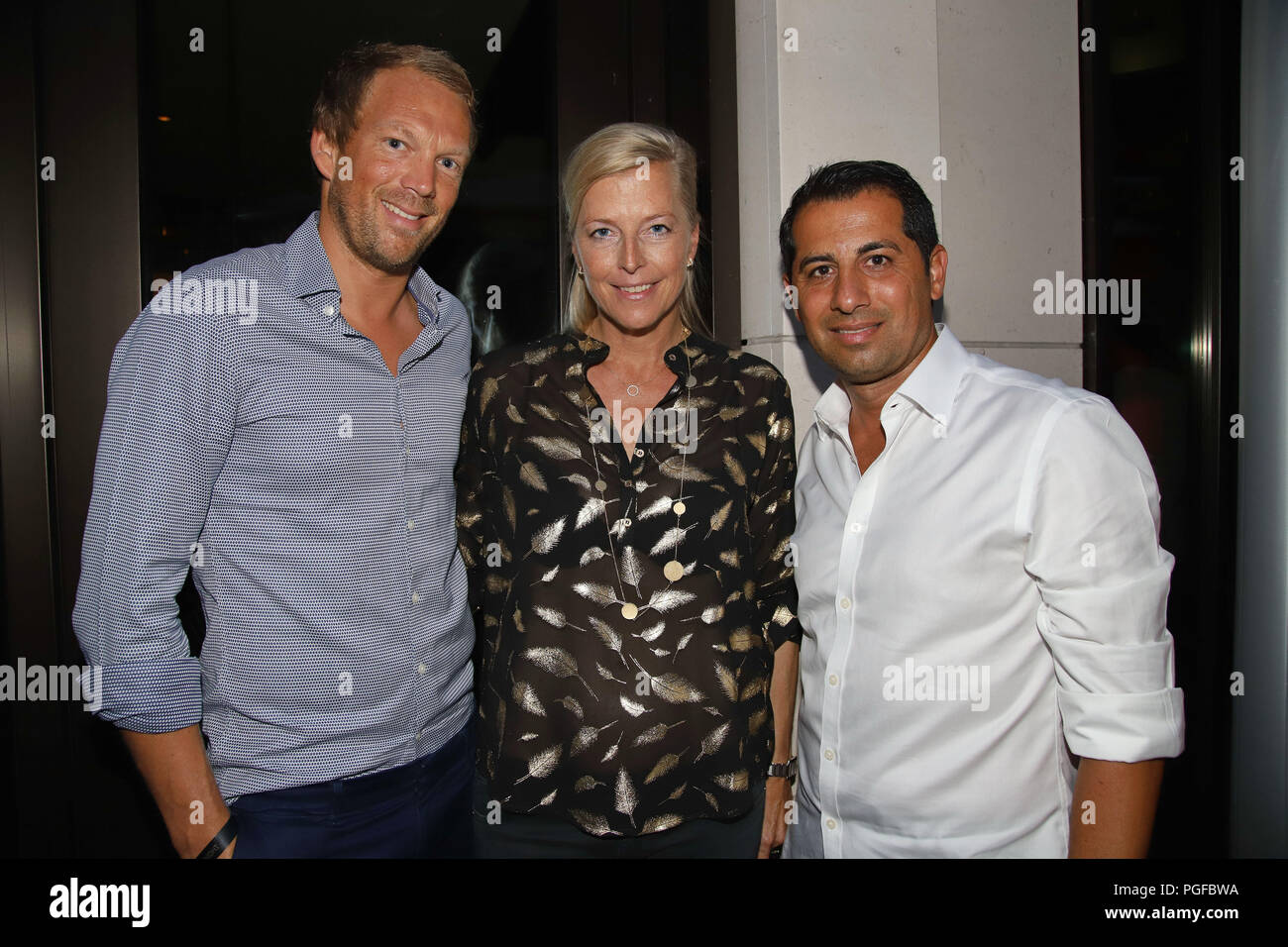 Henriks Hamburg Guests Attending The Players Party Of The German Open 2018 In The