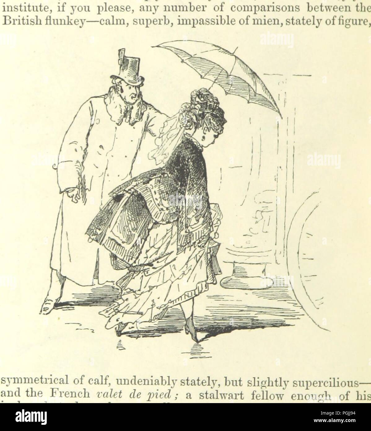 Valet De Pied Image From Page 558 Of Paris Herself Again In 1878 9 Fifth