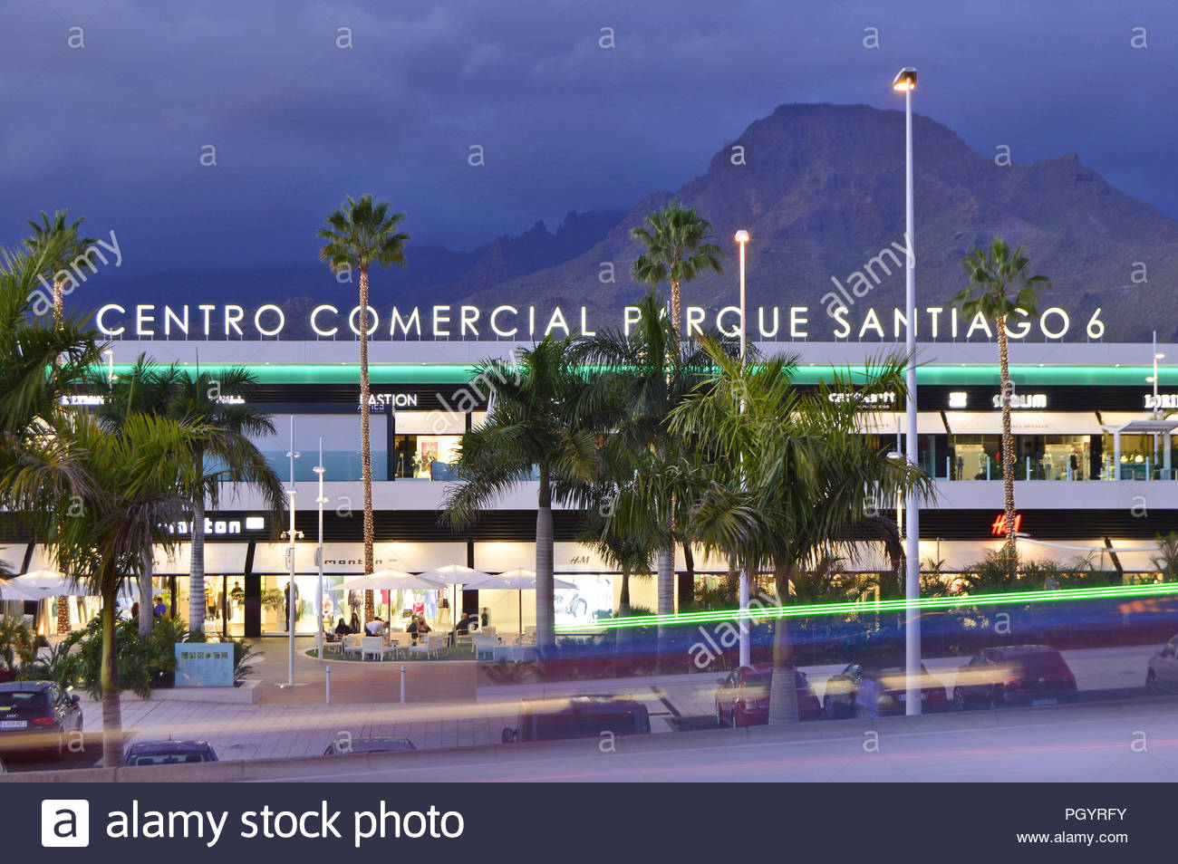 Centro Comercial Del Mueble Tenerife Shopping Centre Canary Islands Stock Photos And Shopping