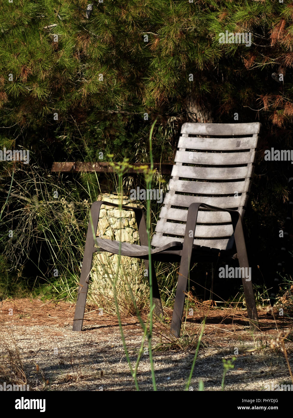 Onland Outdoor Furniture Restful Place With Seat On Land At A Private French House And