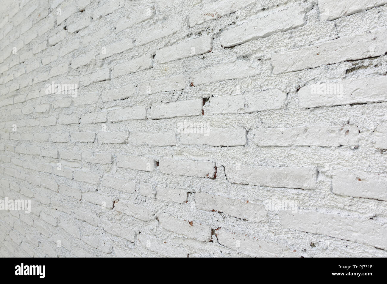 Brick Paint Colors Interior Old White Color Painted On Brick Wall Texture Interior Stock Photo