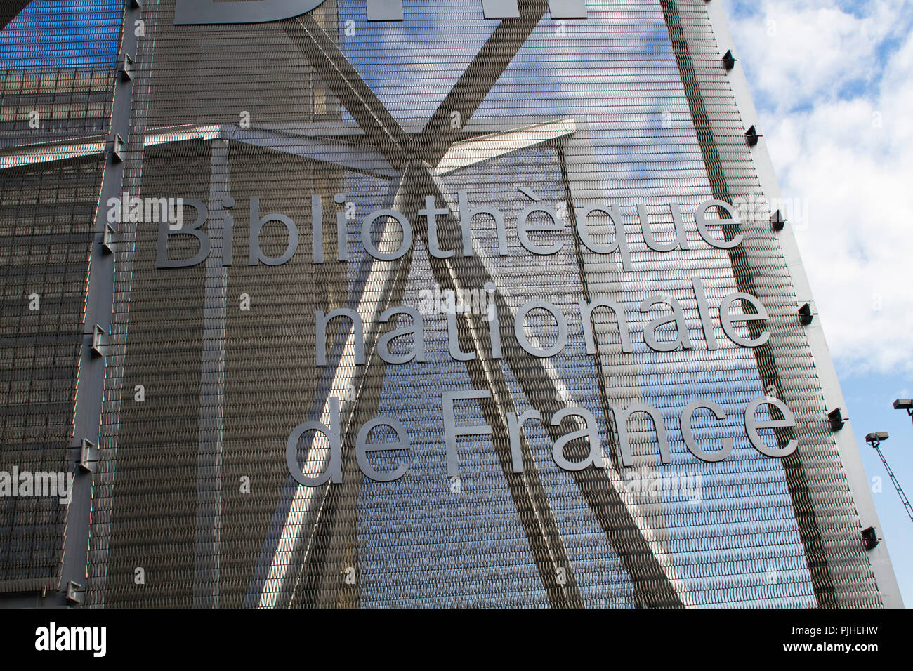 Photo De Bibliothèque Bibliotheque Nationale De France Stock Photos