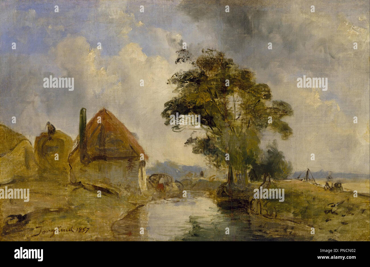 Cm Breda Environs Of Breda Date Period 1857 Painting Oil On Canvas