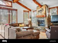 Beautiful open plan home with a well styled living room ...