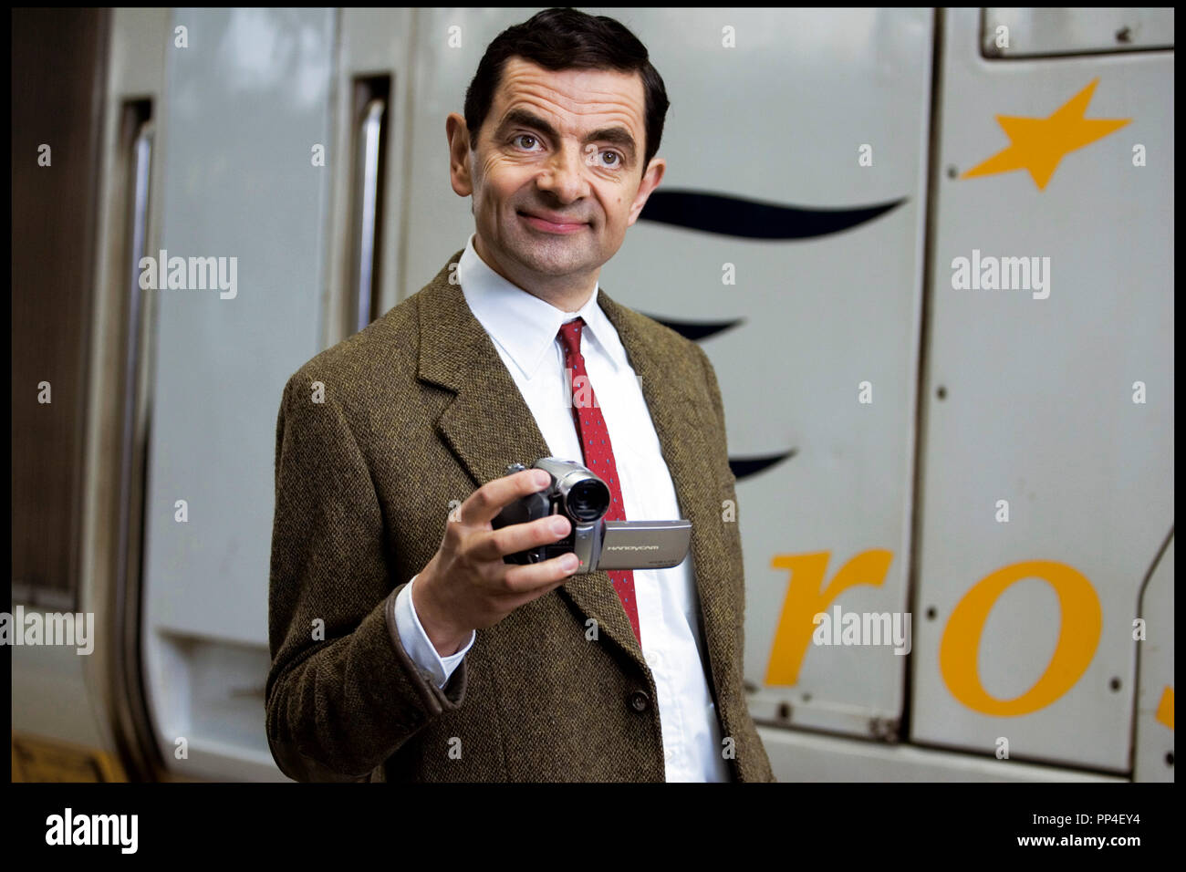 Mr Bean Mr Bean And Camera Stock Photos Mr Bean And Camera Stock Images