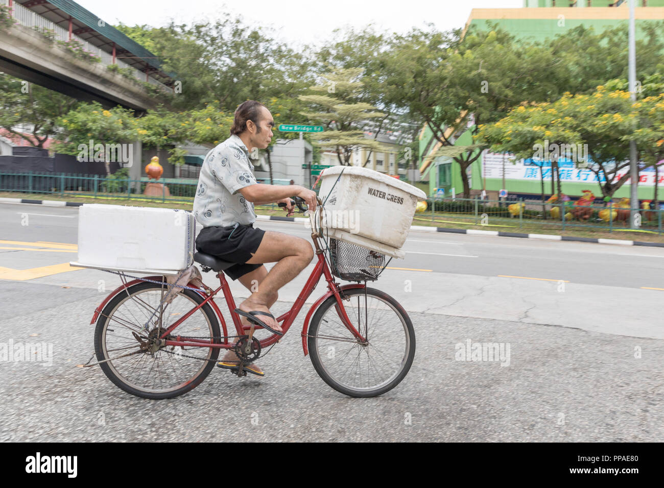 Fahrradkurier Hamburg Singapur Stock Photos And Singapur Stock Images Alamy