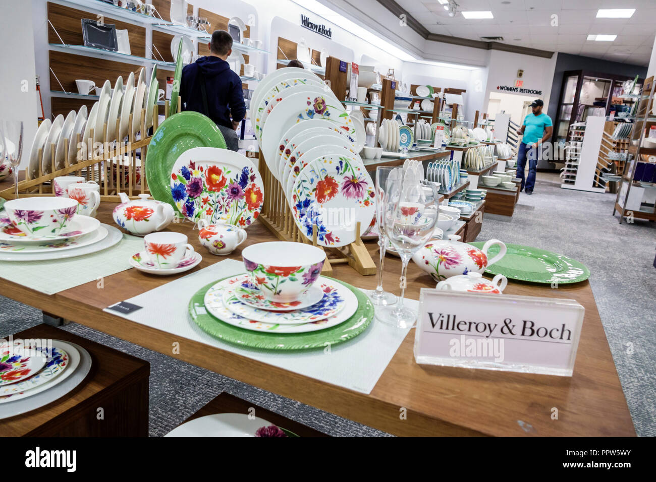 Villery Und Boch Miami Florida Kendall Dadeland Mall Shopping Macy S Department