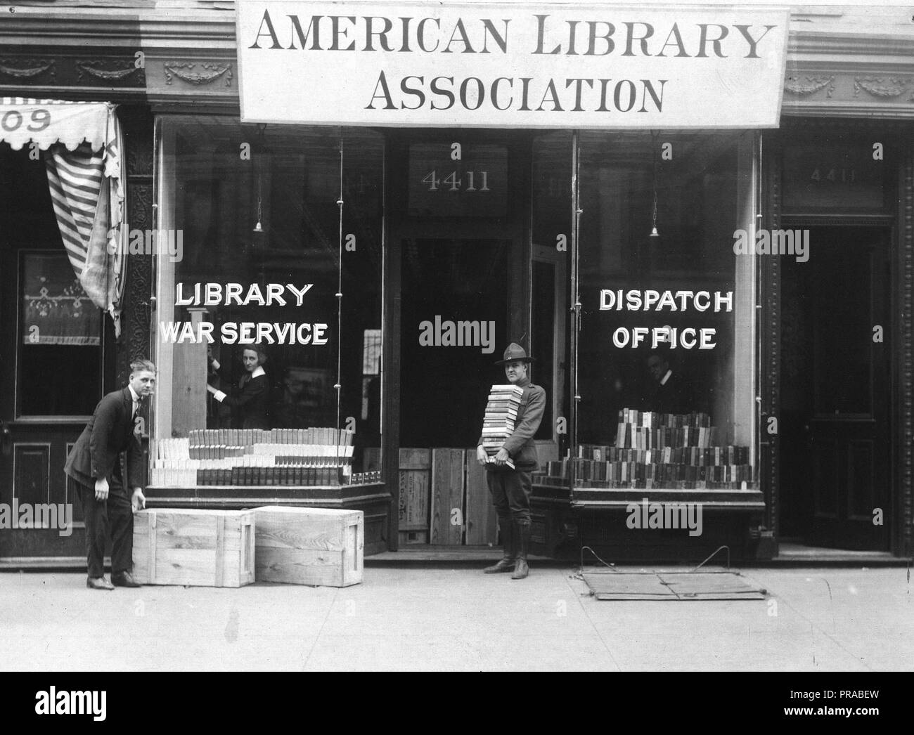 American Library Association 1918 American Library Association Dispatch A L A Dispatch