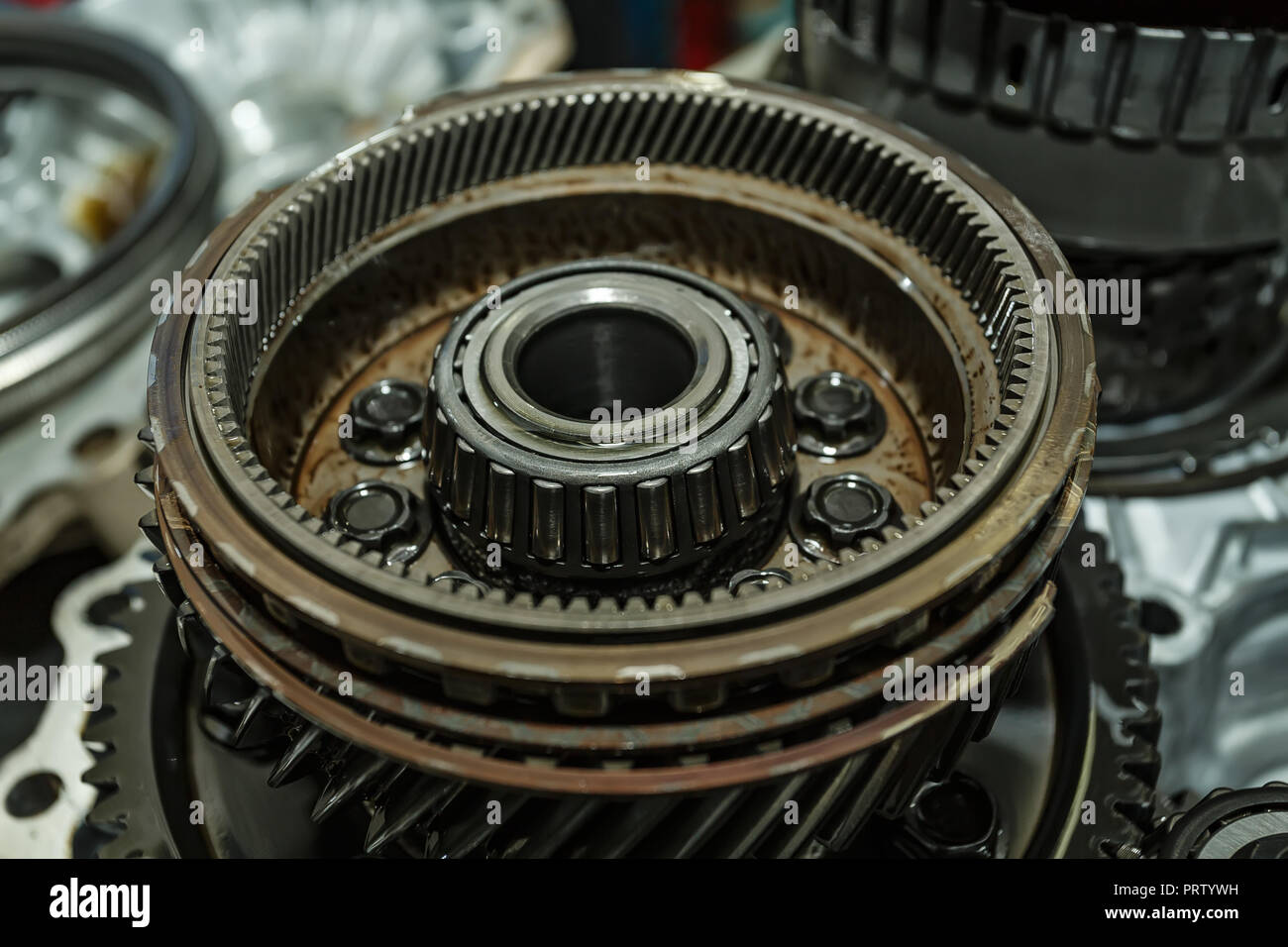 Repair Automatic Transmission Parts Car Stock Photos And Transmission Parts