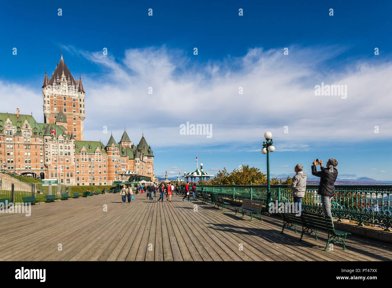Terrasse Dufferin Terrasse Dufferin Quebec Canada Stock Photos And Terrasse