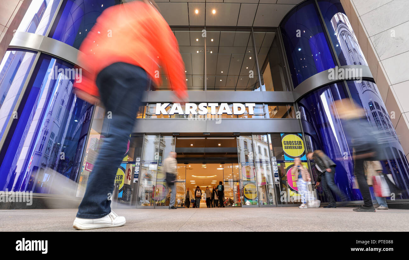 Sachsen Küchen Abverkauf Department Store In Leipzig Stock Photos And Department