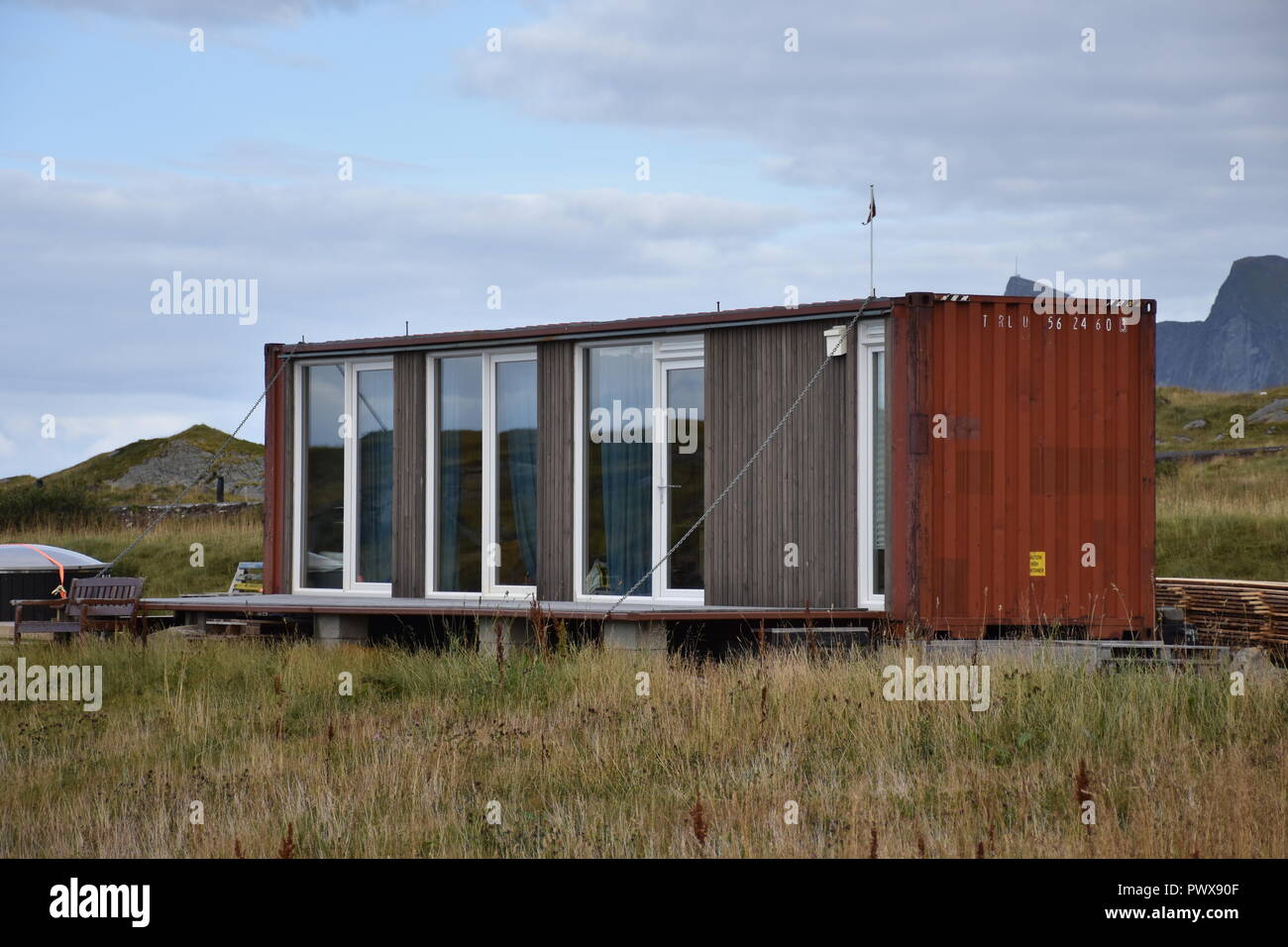 Haus Container Metall Container Stock Photos Metall Container Stock
