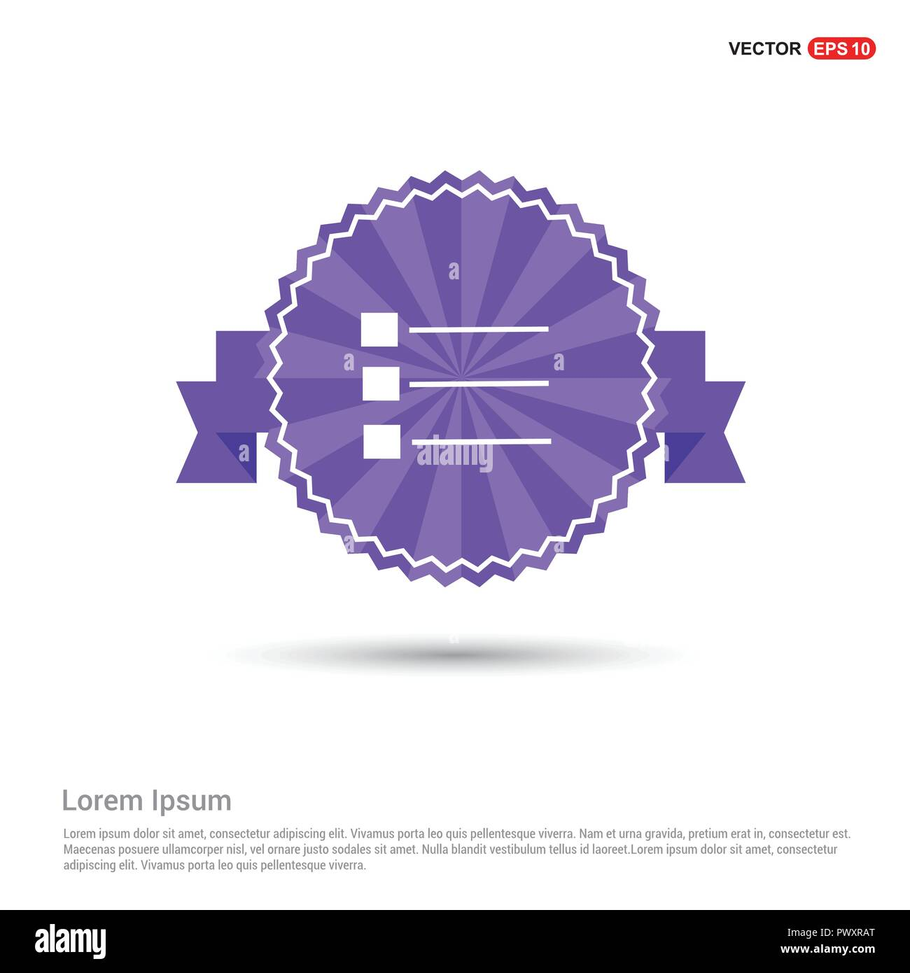 Ra T Vel Note Letter Ribbon Stock Vector Images Alamy