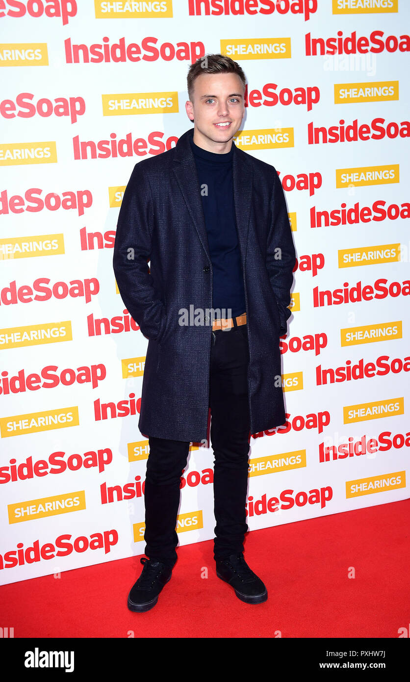 Glaspool Parry Glasspool Attending The Inside Soap Awards 2018 Held At 100