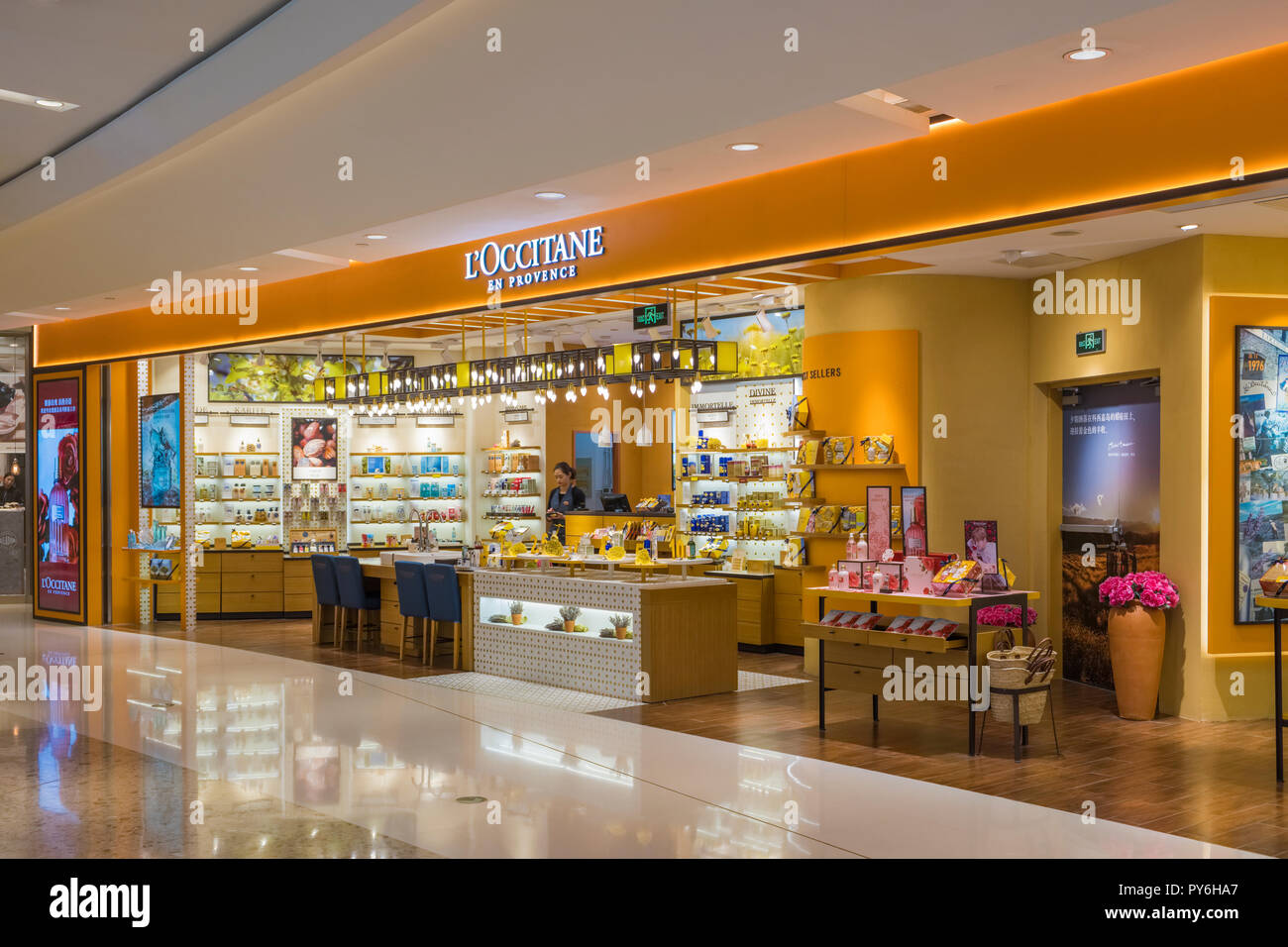 Store En Stock L Occitane Store In Shanghai China Asia Stock Photo 223265455
