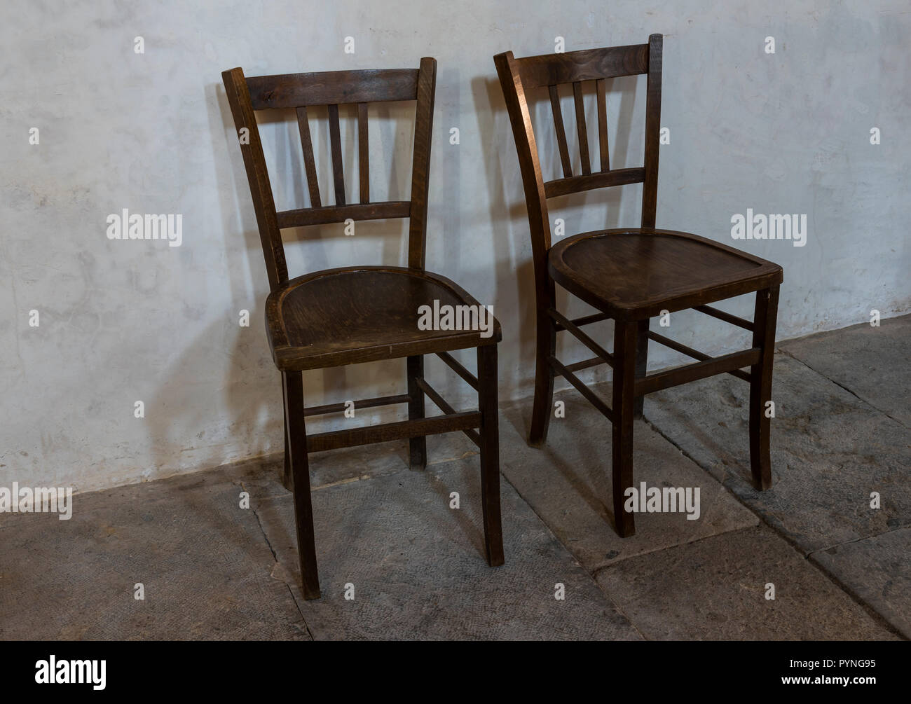Pierre Bourgogne Perrecy Les Forges France August 2 2018 Two Chairs In
