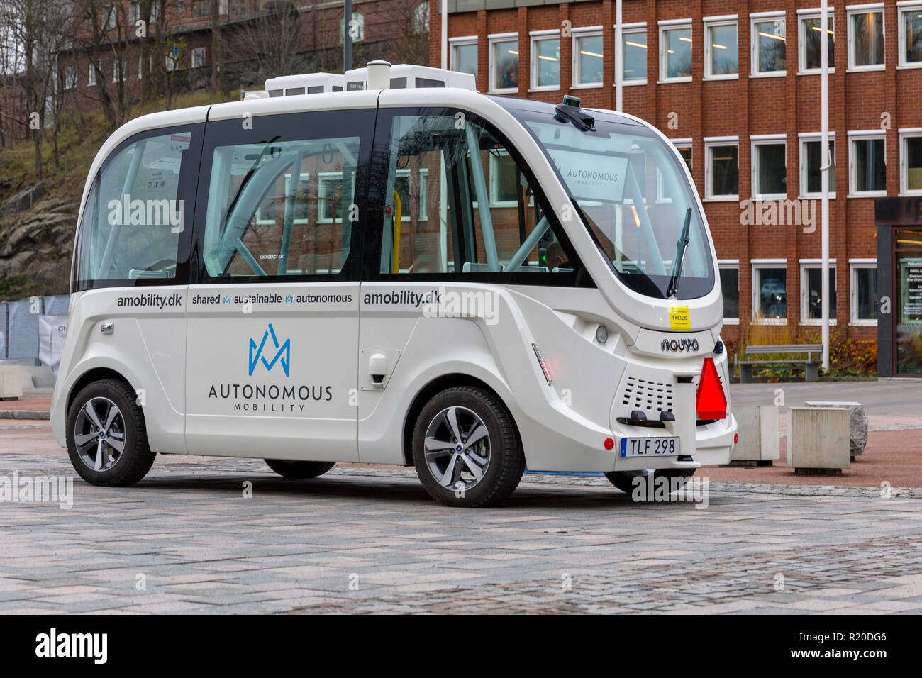 Stansted Car Village Shuttle Small Shuttle Bus Not Airport Stock Photos Small Shuttle