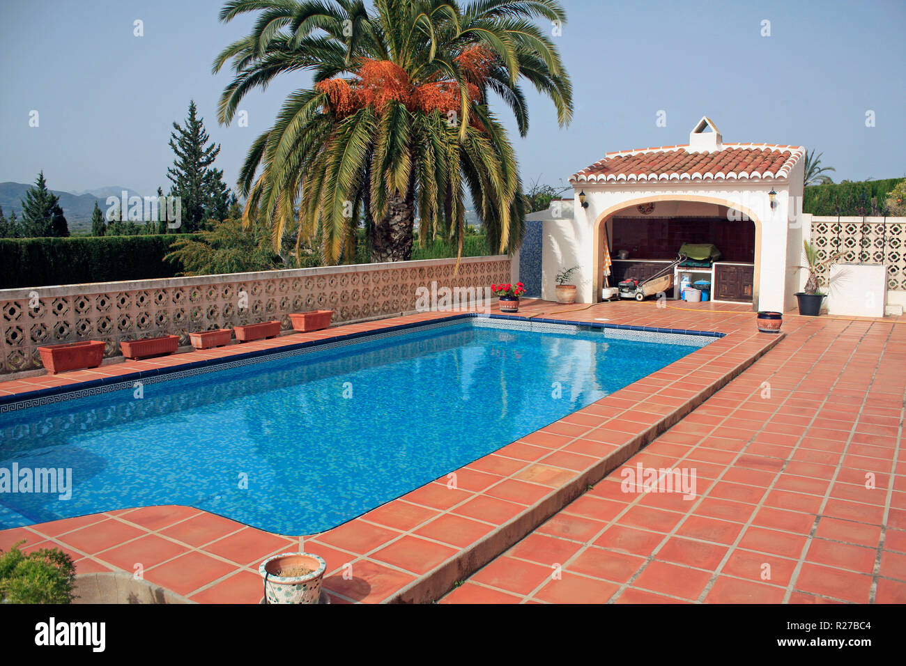Ferienhaus Mit Pool In Xabia Montgo Javea Stock Photos Montgo Javea Stock Images Alamy