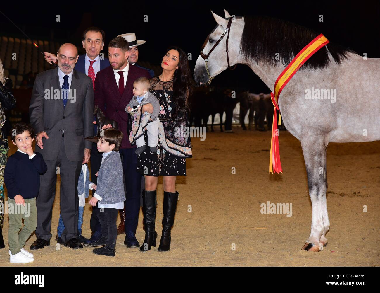 Salon Internacional Del Caballo Sergio Ramos Wife Pilar Rubio Stock Photos And Sergio Ramos
