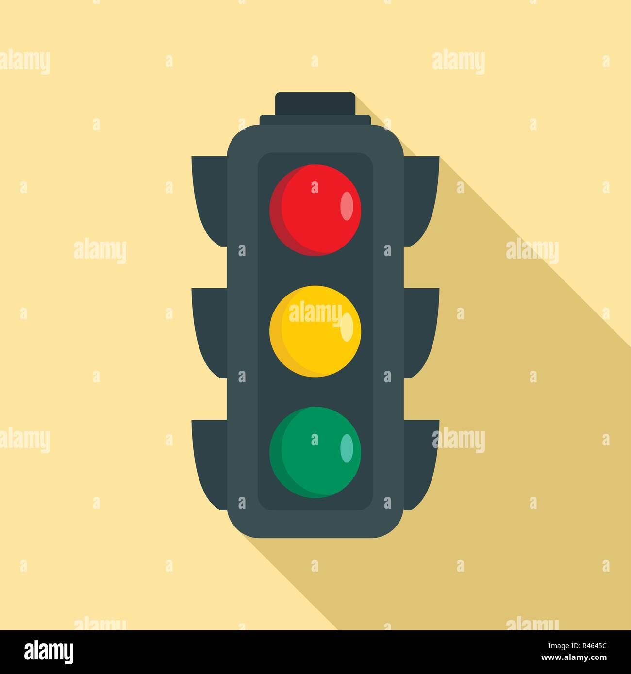 Fußgängerampel Clipart Crossroad With Traffic Lights Stock Vector Images Alamy