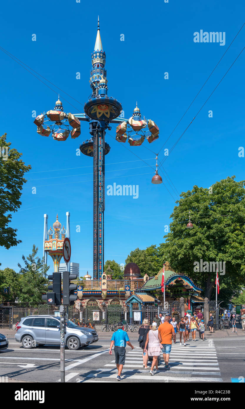 Tivoli Without Rides Tivoli Ride Rides Stock Photos Tivoli Ride Rides Stock Images