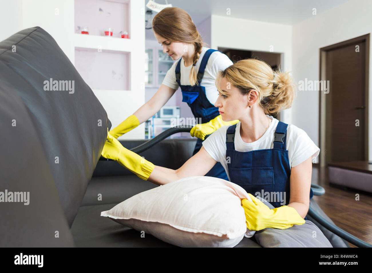 How To Dry Clean Sofa At Home Cleaning Service With Professional Equipment During Work