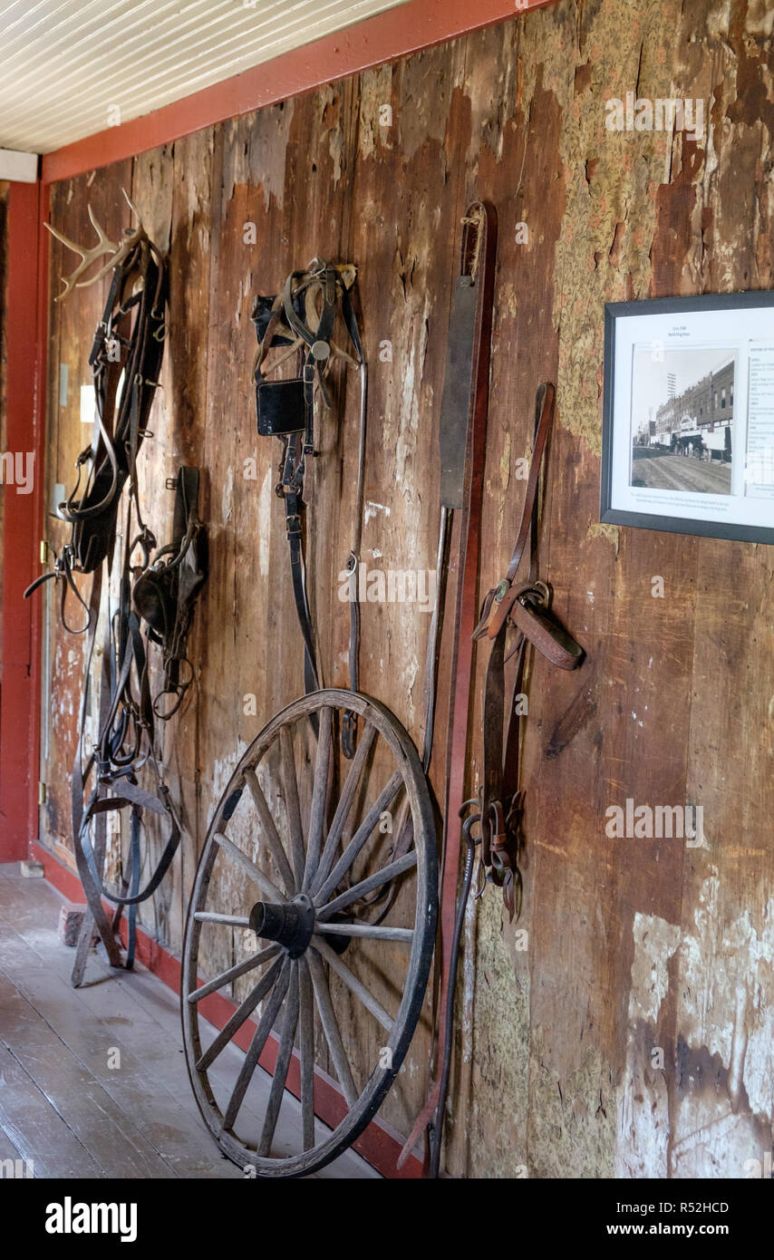 Rustic Walls Interior Rustic Wooden Interior Of Old Texan Home With Antique Wood Wagon