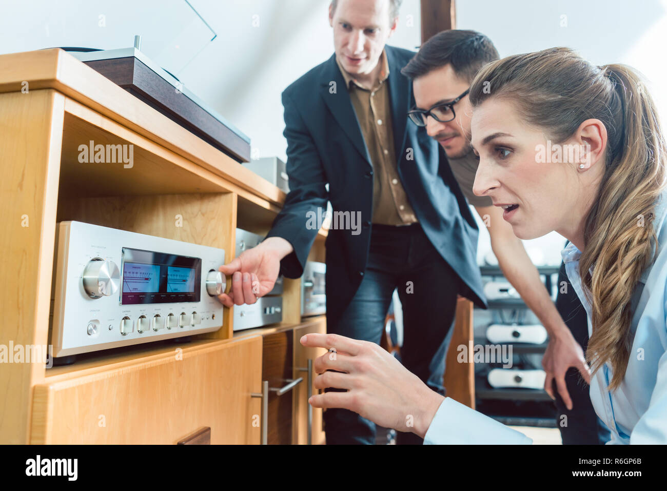 Hi Fi System High Resolution Stock Photography And Images Alamy