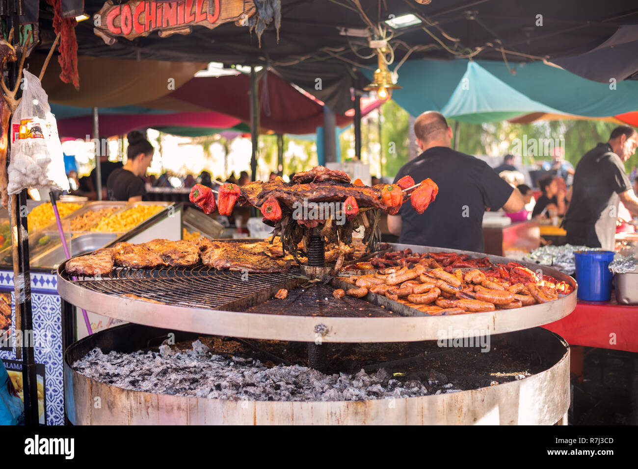 Buffet Libre Vigo October 12 Spain Stock Photos October 12 Spain Stock Images Alamy