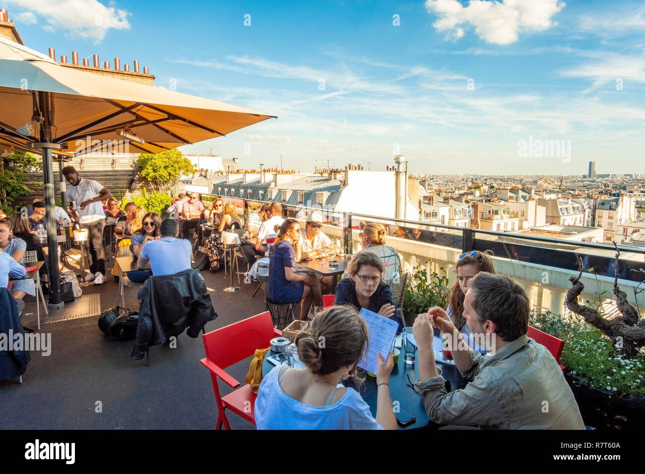 Terrasse Hotel Paris France Paris The Terrass Hotel The Panoramic Terrace On The Top