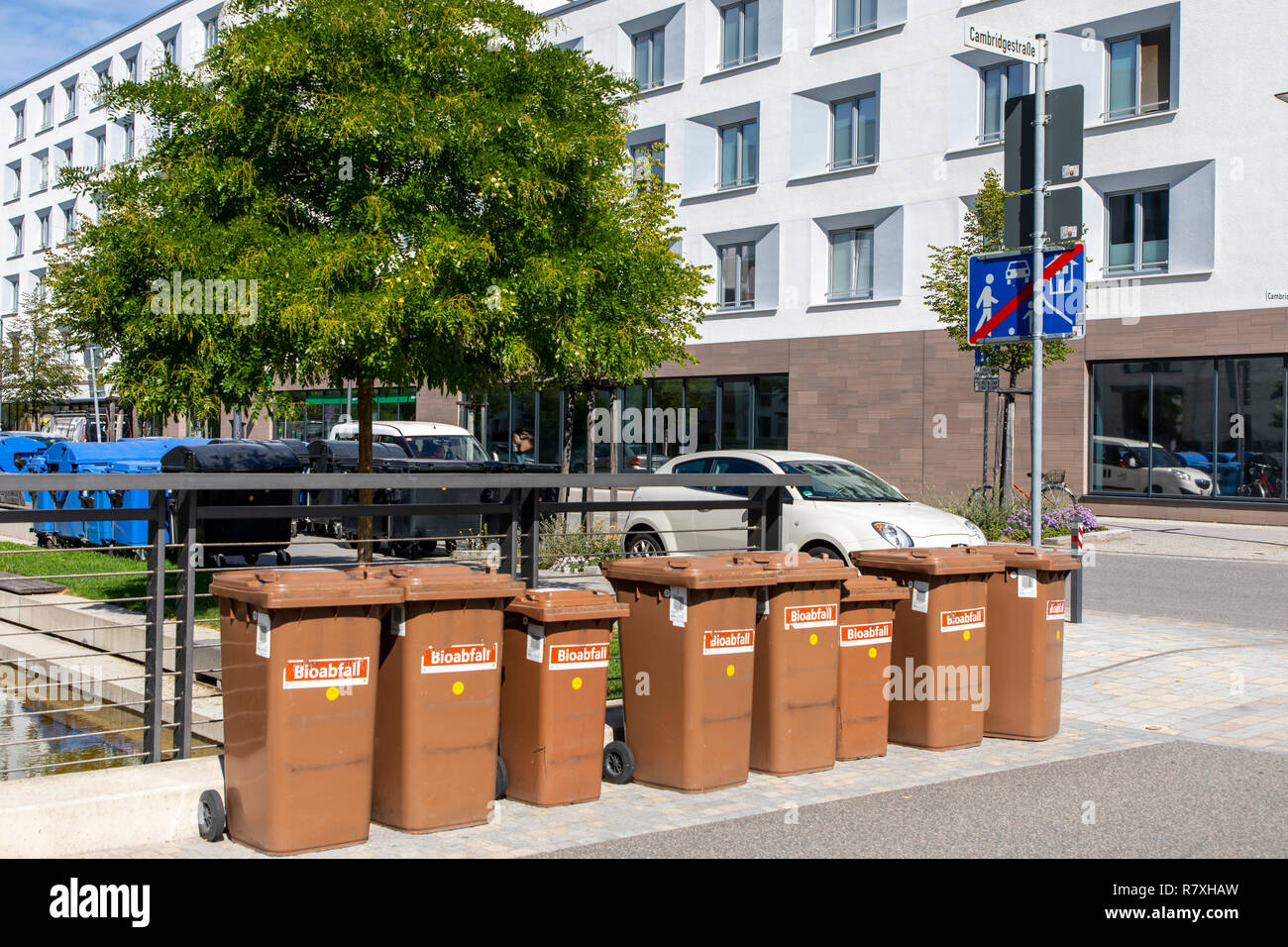 Recycling Heidelberg Garbage Disposal Stock Photos Garbage Disposal Stock Images Alamy