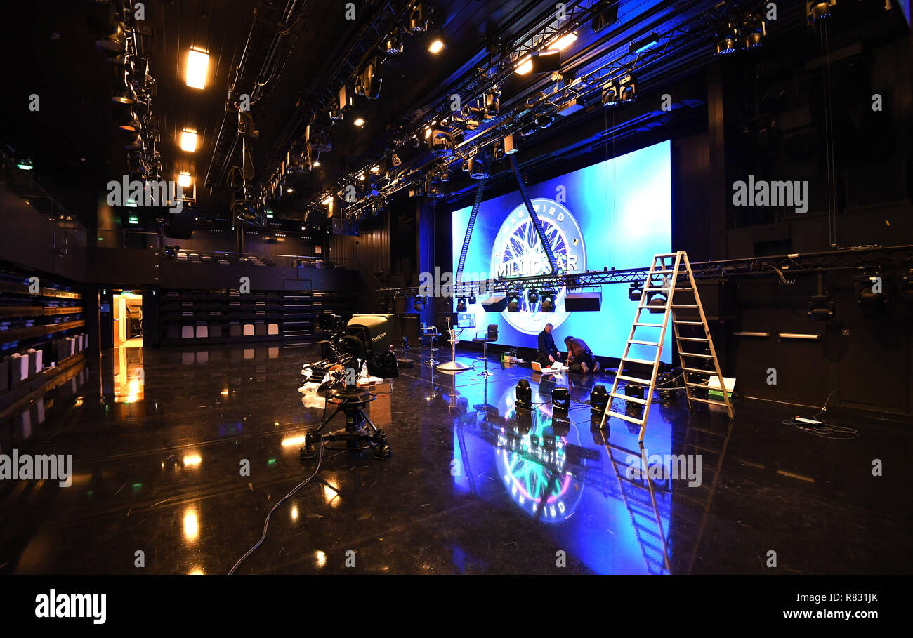 Sushi Bremerhaven Bremerhaven Germany 12th Dec 2018 The Tv Studio Of The Cruise