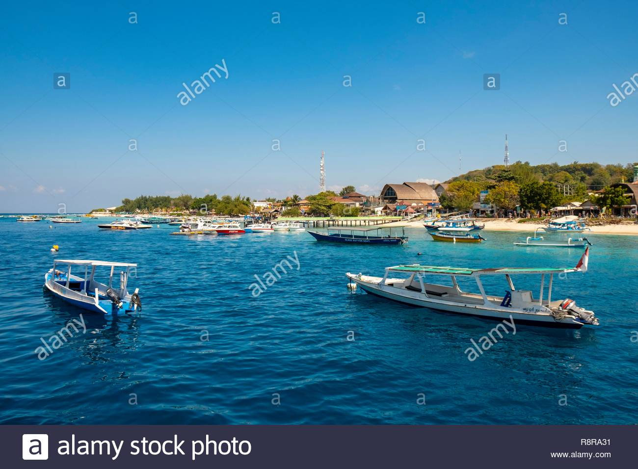 Gili Lombok Indonesia Lombok Gili Trawangan Stock Photo 229164853 Alamy