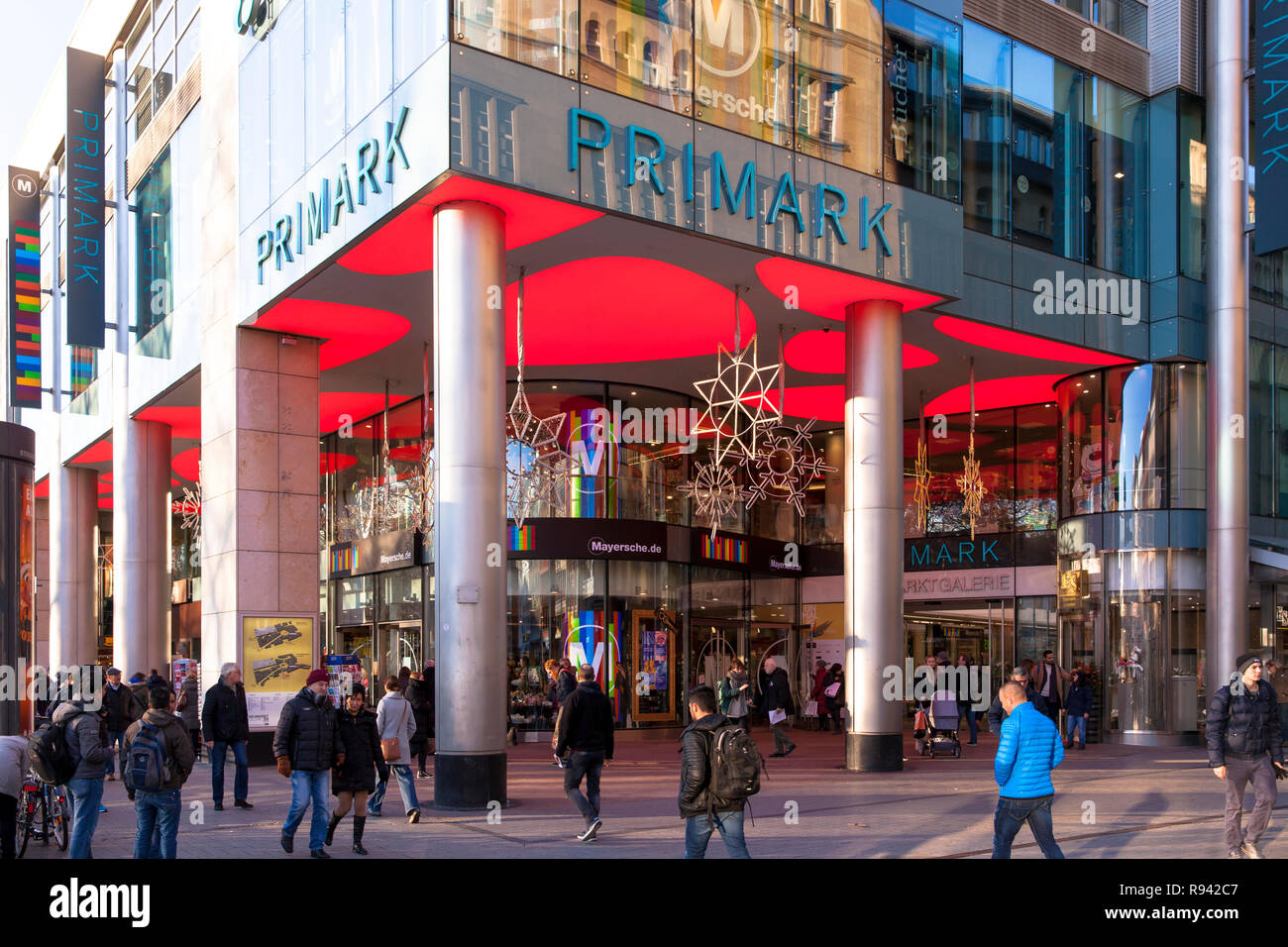 Primark Osnabrück Neumarkt Cologne Germany Shopping Stock Photos Neumarkt Cologne