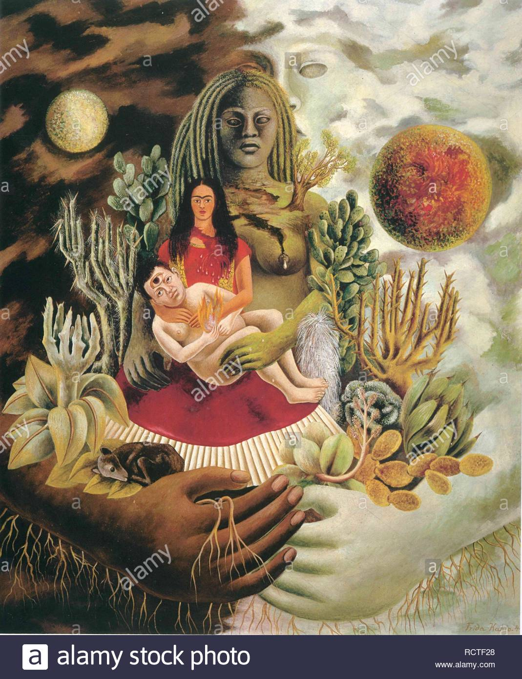 Arte En Mexico Moderno Y Contemporaneo The Love Embrace Of The Universe The Earth Mexico Myself