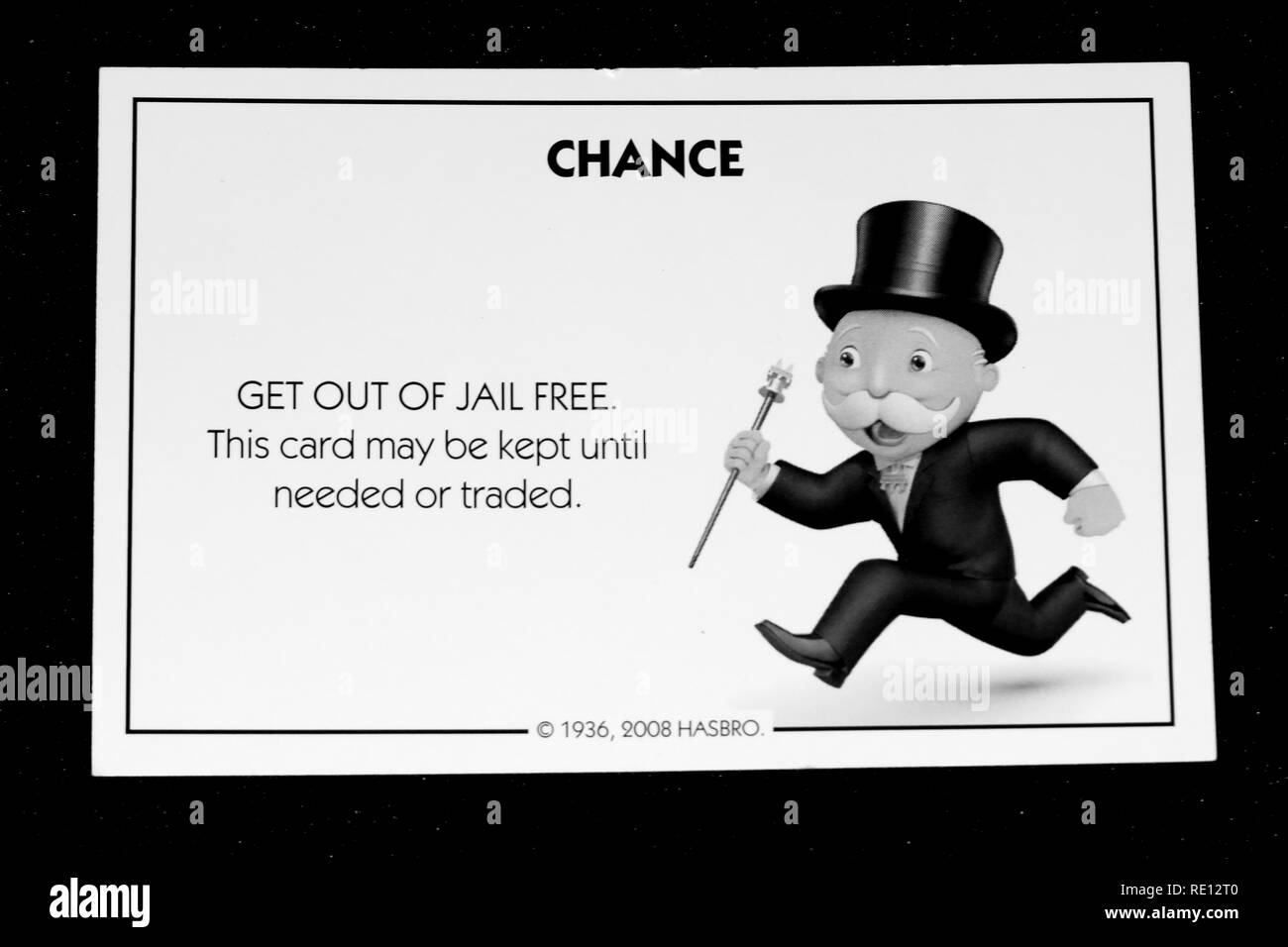 Monopoly Game How To Get Out Of Jail Get Out Of Jail Stock Photos Get Out Of Jail Stock