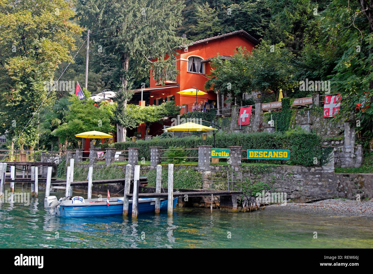 Arte Restaurant Lugano Lake Lugano Cafe Stock Photos Lake Lugano Cafe Stock Images Alamy