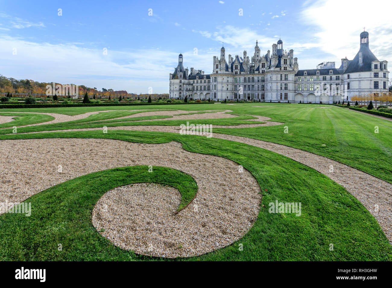 Fleur Jardin France Loir Et Cher Chambord Chambord Castle The French Formal