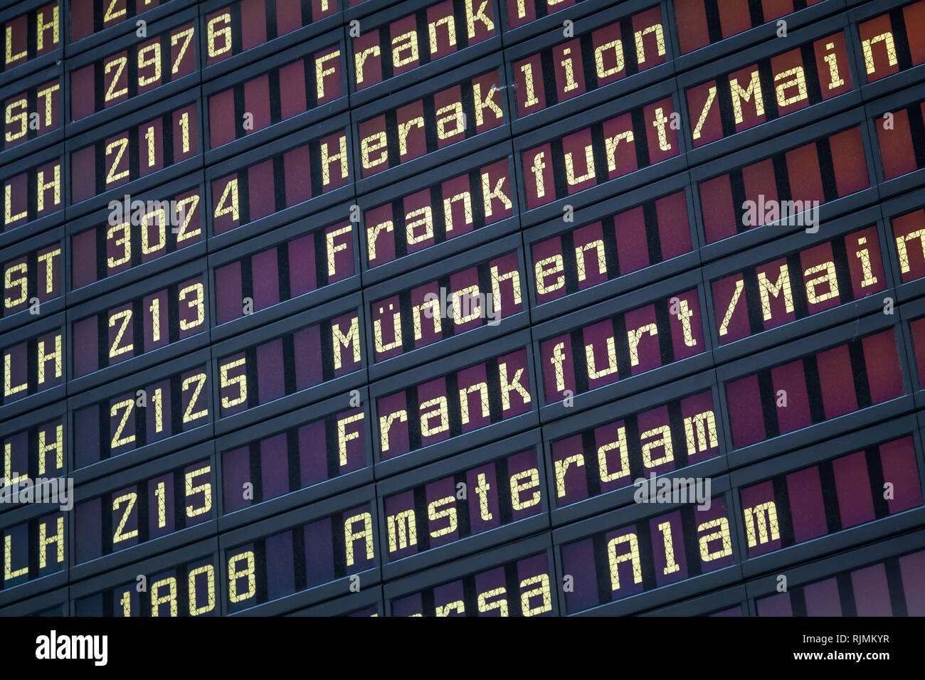 Sofadecke München Flight Board Stock Photos Flight Board Stock Images Alamy