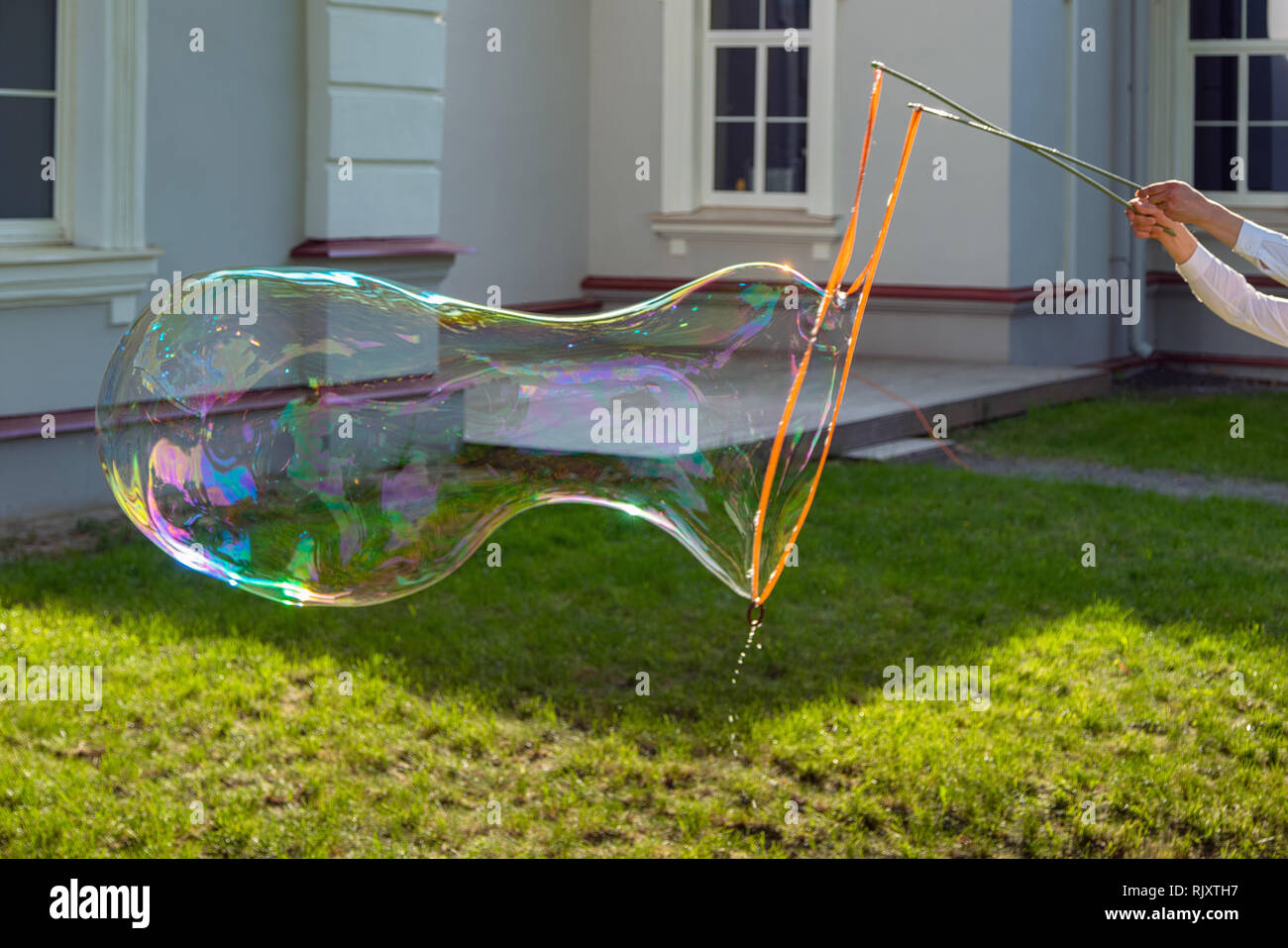 Outdoor Bubble Bett Man Dream Bubble Stock Photos Man Dream Bubble Stock