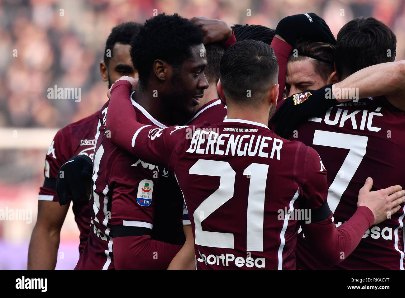 Tim Colore Ola Aina Torino Fc During The Serie A Tim Football Match Between
